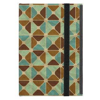 Coque iPad Mini Rétro motif géométrique