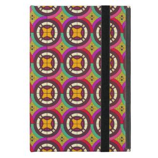 Coque iPad Mini Rétro motif sans couture géométrique abstrait