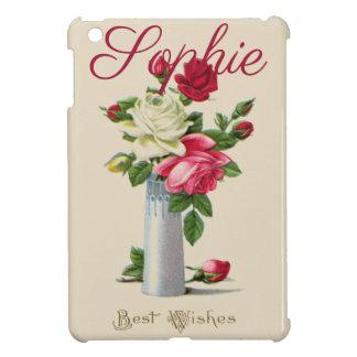 Coque iPad Mini Roses vintages/victoriens Personnalised