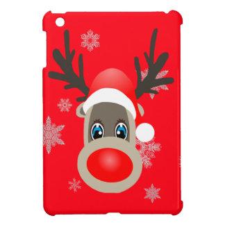 Coque iPad Mini Rudolf - renne de Noël