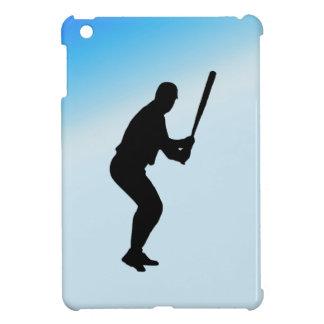 Coque iPad Mini Sports de bleu de pâte lisse de base-ball