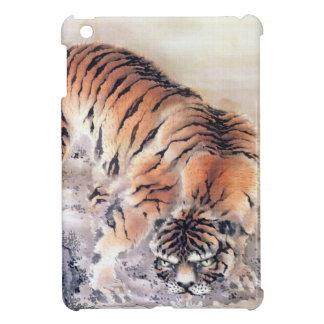 Coque iPad Mini Tigre dans la brume