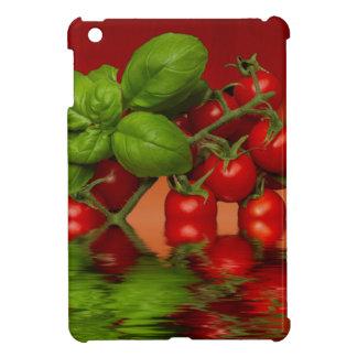 Coque iPad Mini Tomates cerise rouges Basil