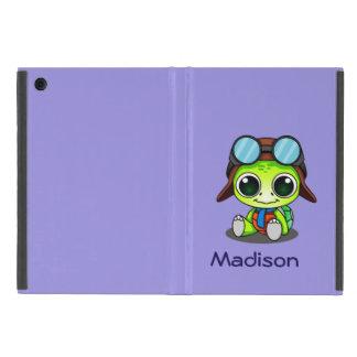 Coque iPad Mini Tortue mignonne personnalisée de Chibi dans le