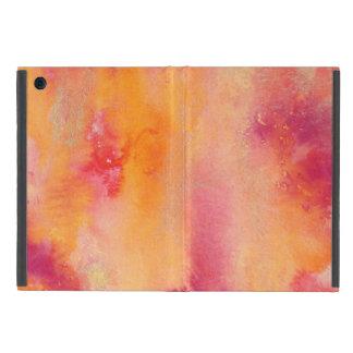 Coque iPad Mini Touché par couleur pour aquarelle du feu