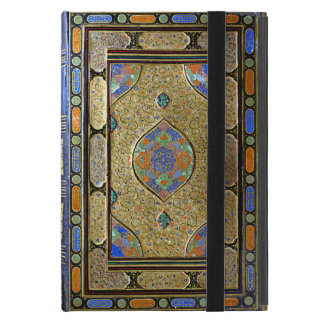 Coque iPad Mini Une vieille couverture de livre décorative colorée