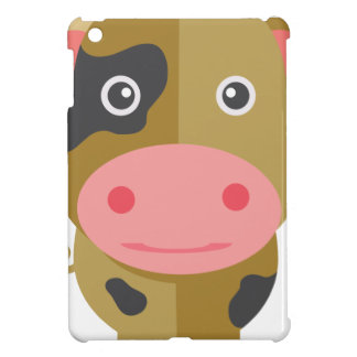 Coque iPad Mini Vache mignonne à bande dessinée