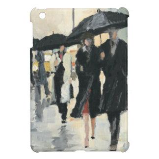 Coque iPad Mini Ville sous la pluie