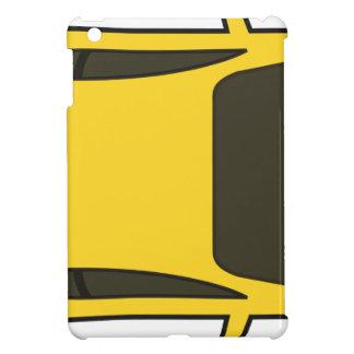 Coque iPad Mini Voiture de sport jaune