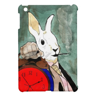 Coque iPad Mini white rabbit