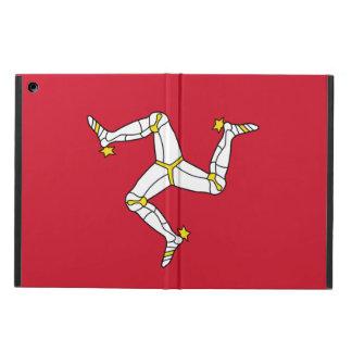 Coque ipad patriotique avec le drapeau d'île de
