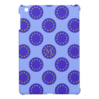 Coque ipad personnalisable de la polka EU/Brexit