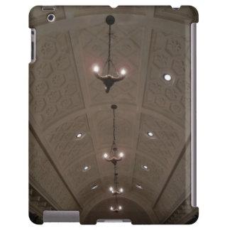 coque ipad - plafond d un tombeau en villa de Gett