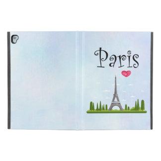 """Coque iPad Pro 9.7"""" Français Paris avec Tour Eiffel"""