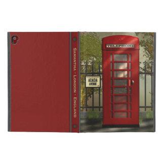 "Coque iPad Pro 9.7"" Rue rouge britannique de Londres de cabine"