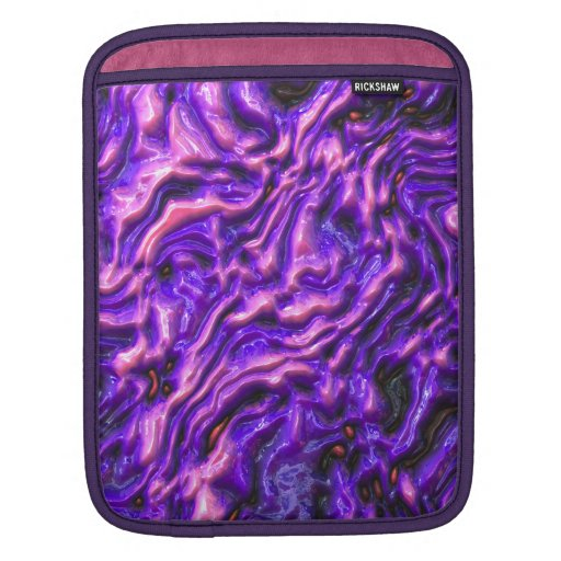 Coque ipad rêveur pourpre poches iPad