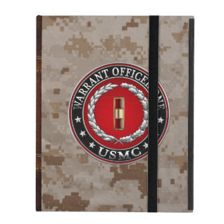 Coque iPad U.S. Marines : Adjudant un (usmc WO-1) [3D]