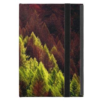 Coque ipad vibrant de pin d'automne