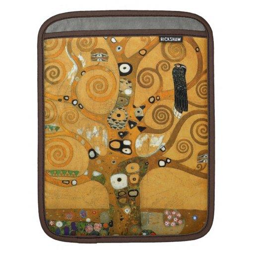 "Coque ipad vintage de vie de Klimt ""arbre"" Poches Pour iPad"