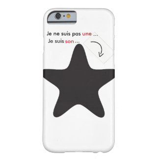 coque Iphone6/6s avec citation Coque Barely There iPhone 6