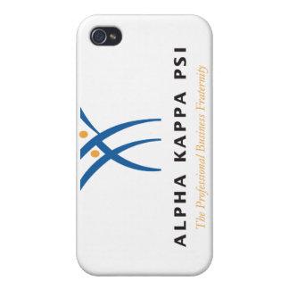 Coque iPhone 4/4S Alpha nom et logo de livre par pouce carré de