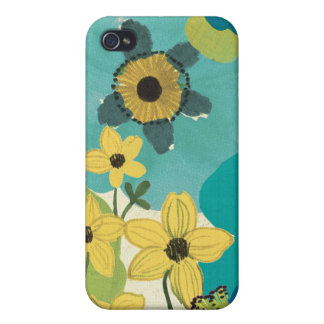 Coque iPhone 4/4S Fleurs décoratives de jardin