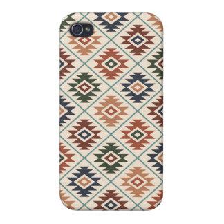 Coque iPhone 4/4S Mélange de couleur de motif stylisé par symbole