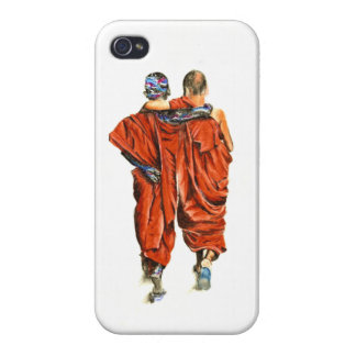 Coque iPhone 4/4S Moines bouddhistes