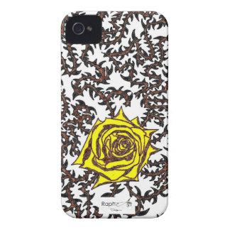 Coque Iphone 4/4S Rose piquante