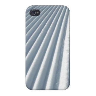 Coque iPhone 4/4S Traînée toilettée de ski de neige