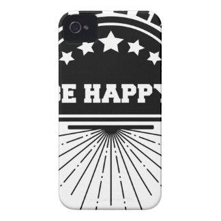 Coque iPhone 4 Abeille libre vivante heureuse
