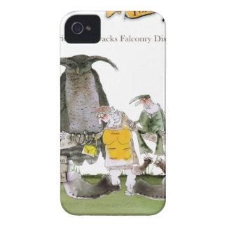 Coque iPhone 4 affichage de fauconnerie de Yorkshire d'amour