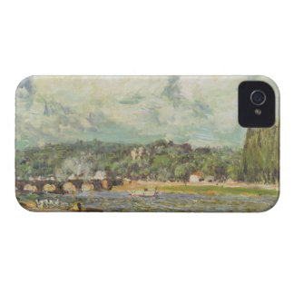 Coque iPhone 4 Alfred Sisley | le pont chez Sevres