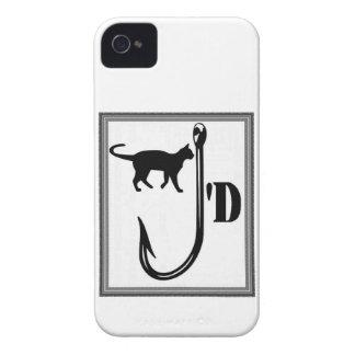 Coque iPhone 4 Amour félin