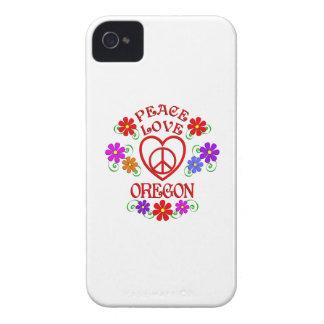 Coque iPhone 4 Amour Orégon de paix