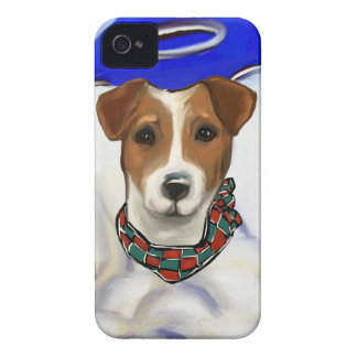 Coque iPhone 4 Ange de Jack Russell Terrier