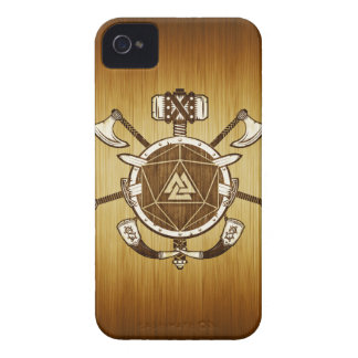 Coque iPhone 4 armes de d20 Viking