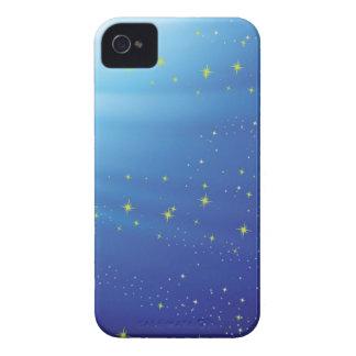 Coque iPhone 4 arrière - plan 83Blue _rasterized