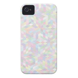Coque iPhone 4 arrière - plan coloré