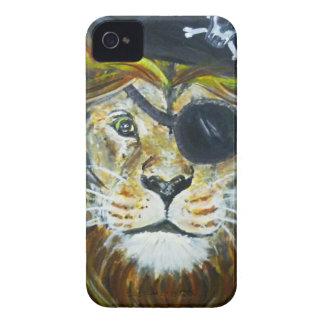 Coque iPhone 4 Art de pirate de lion