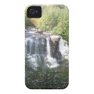 Coque iPhone 4 Automnes de Blackwater, la Virginie Occidentale