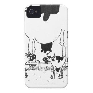 Coque iPhone 4 Bande dessinée 3372 de vache