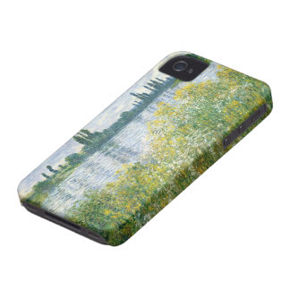 Coque iPhone 4 Banques de Claude Monet | de la Seine, Vetheuil,