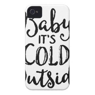 Coque iPhone 4 Bébé c'est extérieur froid