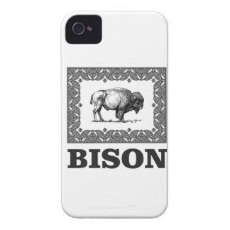 Coque iPhone 4 Bison dans un cadre