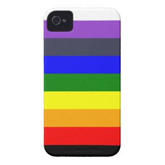 Coque iPhone 4 Blanc pour noircir l'arc-en-ciel des espaces
