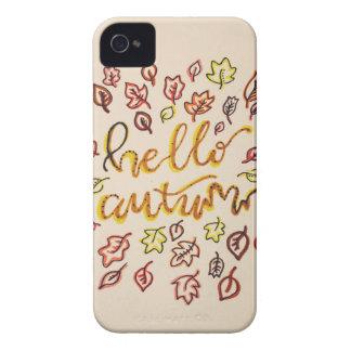 Coque iPhone 4 Bonjour automne