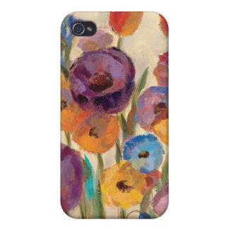 Coque iPhone 4 Bouquet des fleurs colorées
