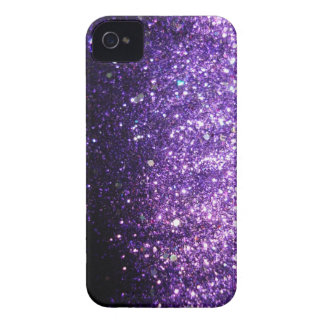 Coque iPhone 4 Caisse pourpre violette de parties scintillantes