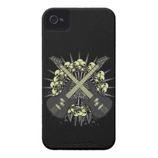 Coque iPhone 4 Cas de la musique rock iPhone4 iPhone4s de crânes